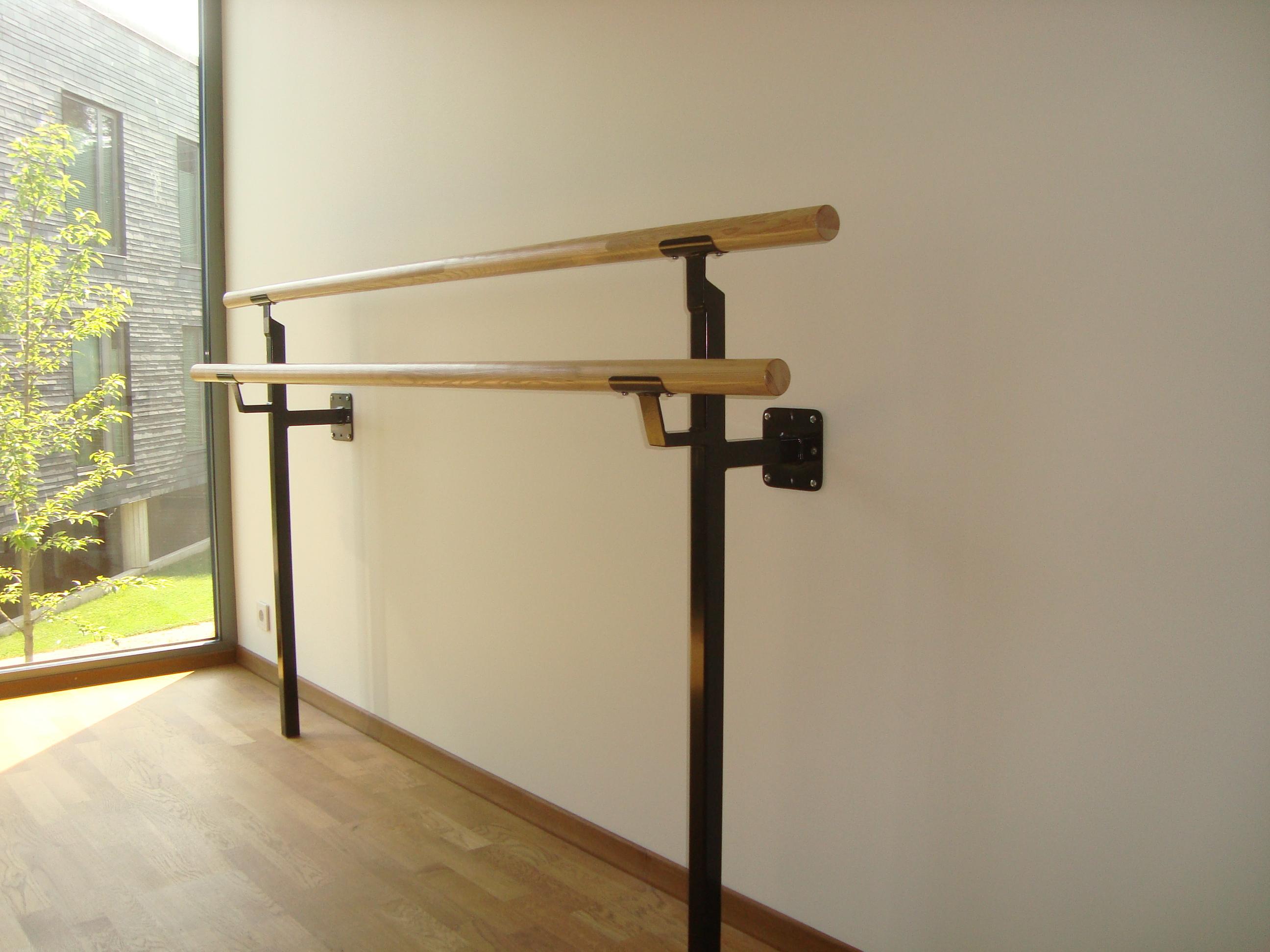 Ballet Barre Wall Amp Floor Mount Wool Double Ballet